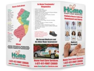 home foot care trifold